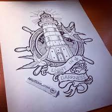 Lighthouse Tattoo Ideas 325 Best Lighthouse Tattoo Images On Pinterest Lighthouse