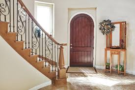 staircase facing front door mirror outside feng shui above near front door entryway mirror in of bedroom vastu bagua over full size
