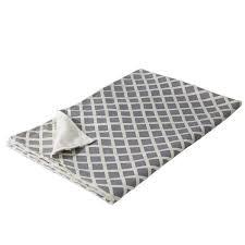 plaid canap gris couverture de canapé de velours diamant gris blanc 130x170 achat