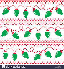 christmas tree sweater with lights christmas tree lights seamless pattern ugly christmas sweater style