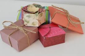 individual ornament gift boxes handmade paper gift boxes allfreechristmascrafts
