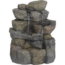 best garden landscape rock fountain wxf03828 do it best