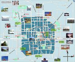 map with attractions beijing attraction map beijing map with attractions beijing tour map