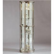 glass corner curio cabinet pulaski furniture curios concave corner curio zak s fine furniture