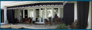 Awnings For Patio Awnings And Outdoor Curtains For Patios Residential And