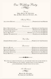 Fan Wedding Program Template Wedding Programs Wedding Program Wording Program Samples Program