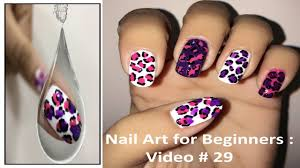 easy nail art for beginners 29 no tools needed youtube