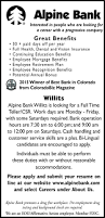 How To Write A Resume For Part Time Job by Jobs In Summit Colorado Classifieds By Summitdaily Com