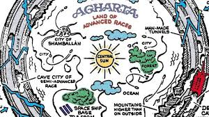 agartha map 85 inside the hollow earth big think