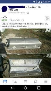 coffin for sale slightly used coffin for sale facebookcringe