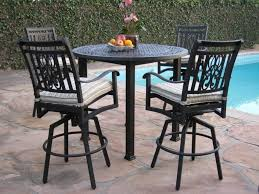 High Patio Chairs Outside Table High Patio Chairs Outdoor Metal Bar Table Rattan Bar