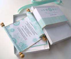 Fairytale Wedding Invitations Fairytale Wedding Invitations In Aqua With Snowflakes U2013 Artful