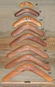 traditional aboriginal boomerangs