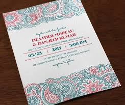 indian wedding cards chicago modern indian wedding cards design yaseen for
