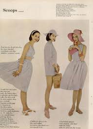 breezy summer fashions from mademoiselle magazine 1960 vintage