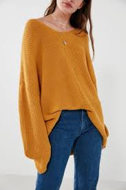 high sweaters bdg knit high low sweater high low outfitters and
