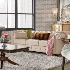 Linen Chesterfield Sofa Style Classic 12 Charming Chesterfield Sofas For Every Budget