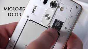 how to insert micro sd card to lg g3 youtube