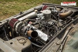 nissan skyline engine bay twin turbo chev powered nissan skyline ratter street machine