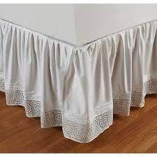 Bed Skirt With Split Corners 230 Best Bedskirts Images On Pinterest Bedskirts Bedroom And