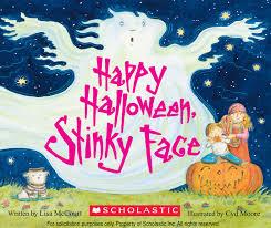 happy halloween stinky face lisa mccourt cyd moore