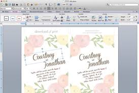 Wedding Invitations Free Free Printable Wedding Invitation Templates For Word