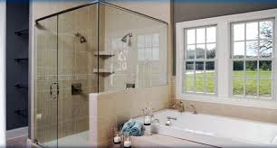 installation glyn collins shower door company frameless shower