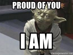 Yoda Meme Creator - proud of you i am congratulations yoda meme generator