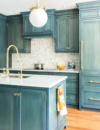 Kitchen Cabinet Paint Ideas by Blue Color Kitchen Cabinet U2013 Sequimsewingcenter Com