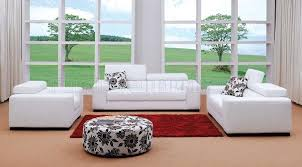 modern livingroom sets fabric modern living room set miami white