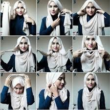 tutorial jilbab remaja yang simple cara memakai jilbab pashmina simple tapi modis