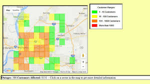 Memphis Map Thousands Still Without Power In Memphis As Storms Continue