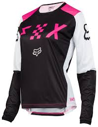 women s fox motocross gear fox racing women u0027s switch jersey revzilla