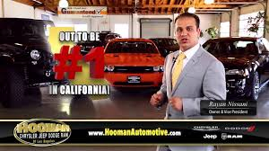 chrysler jeep dodge dealership hooman chrysler dodge jeep ram out to be 1 youtube