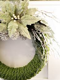 Christmas Decorations Bulk by Finger Knitted Christmas Wreath Hometalk