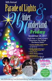 The San Rafael 38th Annual Parade Of Lights And Winter Wonderland
