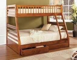 Solid Oak Bunk Bed Solid Wood Bunk Beds Inspirations Image Of