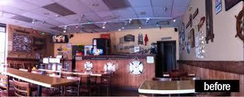 cozy rustic cajun seafood restaurant design projects