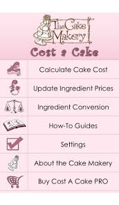 cost a cake on the app store