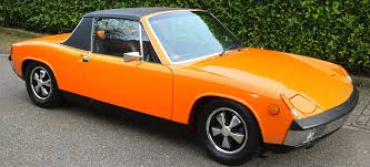 orange porsche vintage corner porsche 914 premier financial services