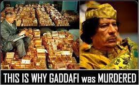 Gaddafi Meme - this is why gaddafi was murdered y so serious