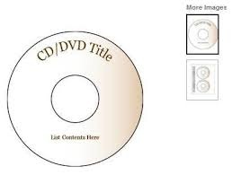 Free Cd Template Create Your Own Cd And Dvd Labels Using Free Ms Word Templates
