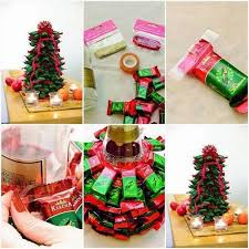 Candy Decorations For Christmas Tree by Homemade Edible Christmas Trees Eye Catching And Delicious Treats