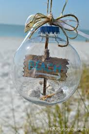 diy themed ornament coastal