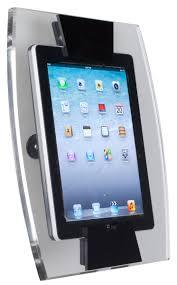 How To Mount Ipad To Wall Ipad Wall Mount Secure Tablet Display Bracket