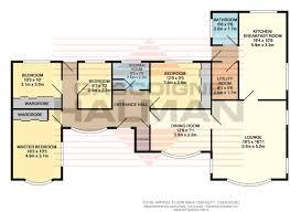 Four Bedroom Bungalow Floor Plan 4 Bedroom Bungalow For Sale In York Road Grappenhall Wa4