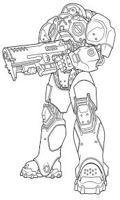 Starcraft Coloring Pages starcraft 17 printable coloring pages