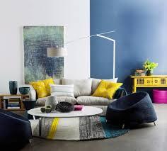 Wohnzimmer Design Rot Wohnzimmer Blau Grau Rot Usauo Com