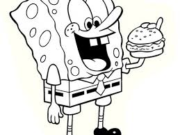 download spongebob colouring pages to print ziho coloring