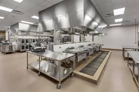 Commercial Restaurant Kitchen Design Fascinating Design Ideas Of Restaurant Interior With Black And
